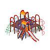 Детский игровой комплекс «Дворик детства» ДИК 2.01.4.01 H=1200, фото 2