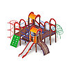 Детский игровой комплекс «Дворик детства» ДИК 2.01.4.01 H=1200, фото 4