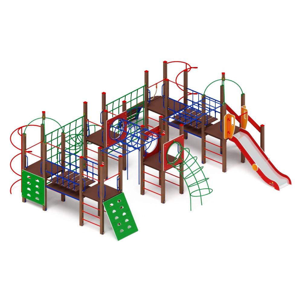 Детский игровой комплекс «Спорт» ДИК 2.06.01 H=1200