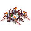 Детский игровой комплекс «Остров детства» ДИК 2.01.8.01 H=1200, фото 2
