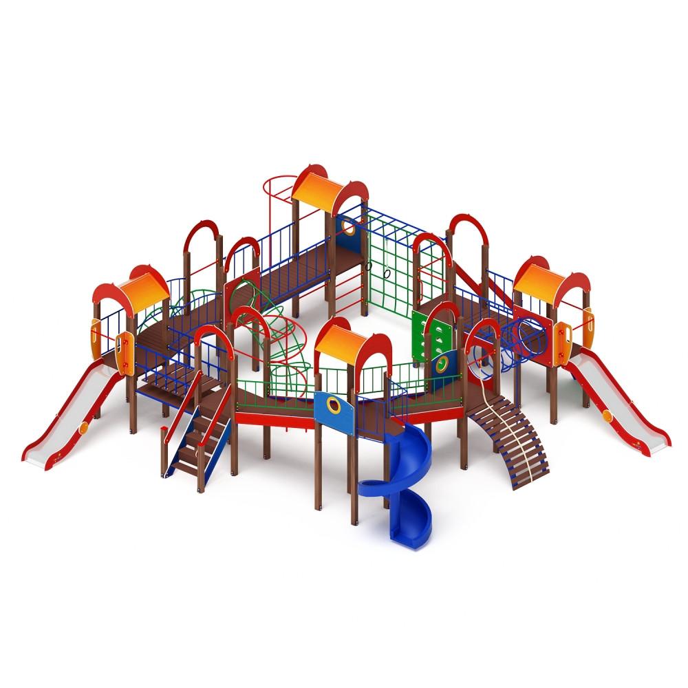 Детский игровой комплекс «Остров детства» ДИК 2.01.8.02 H=1200 H=2000