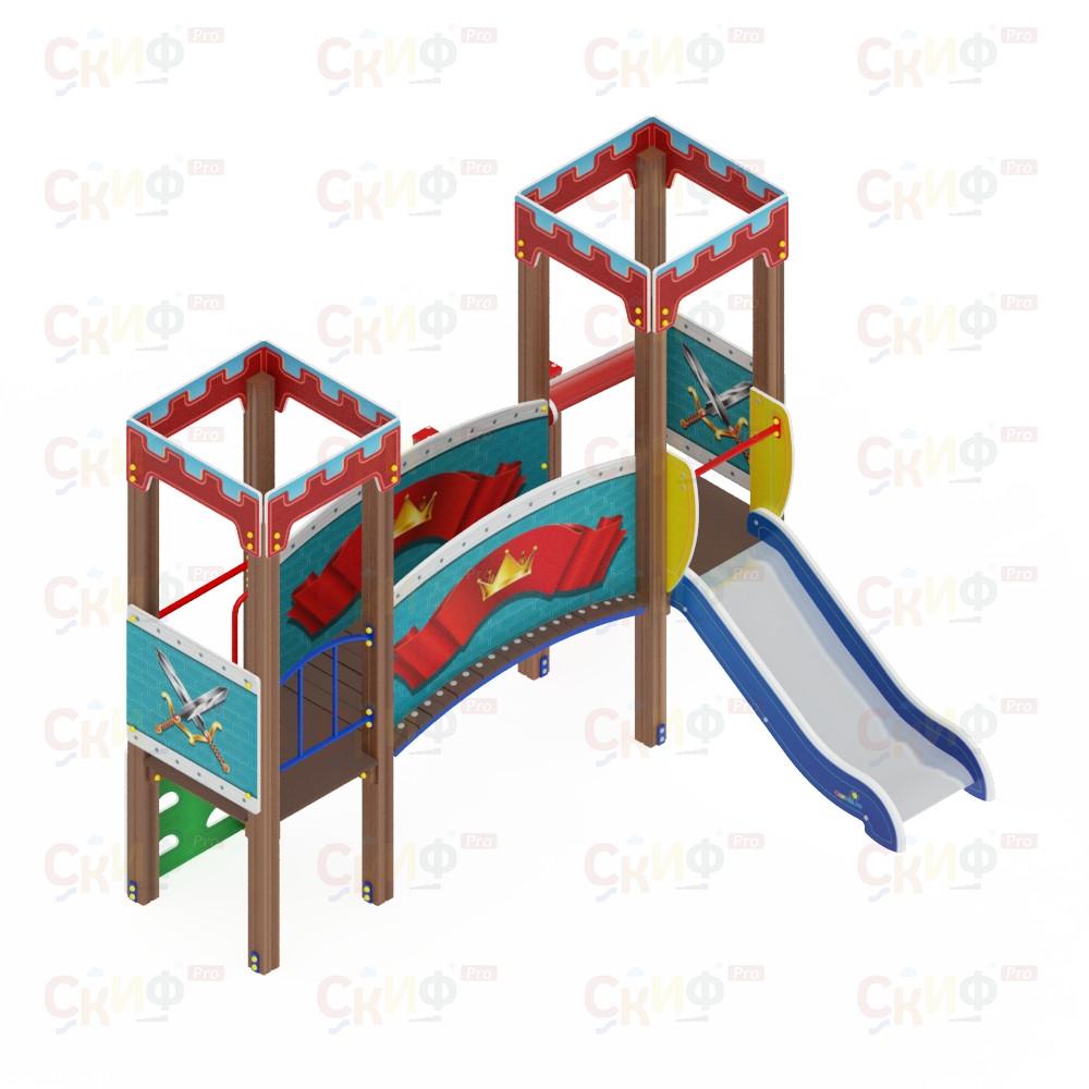 Детский игровой комплекс «Королевство» ДИК 1.15.02 H=750