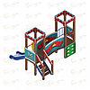 Детский игровой комплекс «Королевство» ДИК 1.15.02 H=750, фото 3
