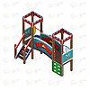 Детский игровой комплекс «Королевство» ДИК 1.15.02 H=750, фото 4