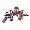Детский игровой комплекс «Королевство» ДИК 1.15.04 H=900, фото 3
