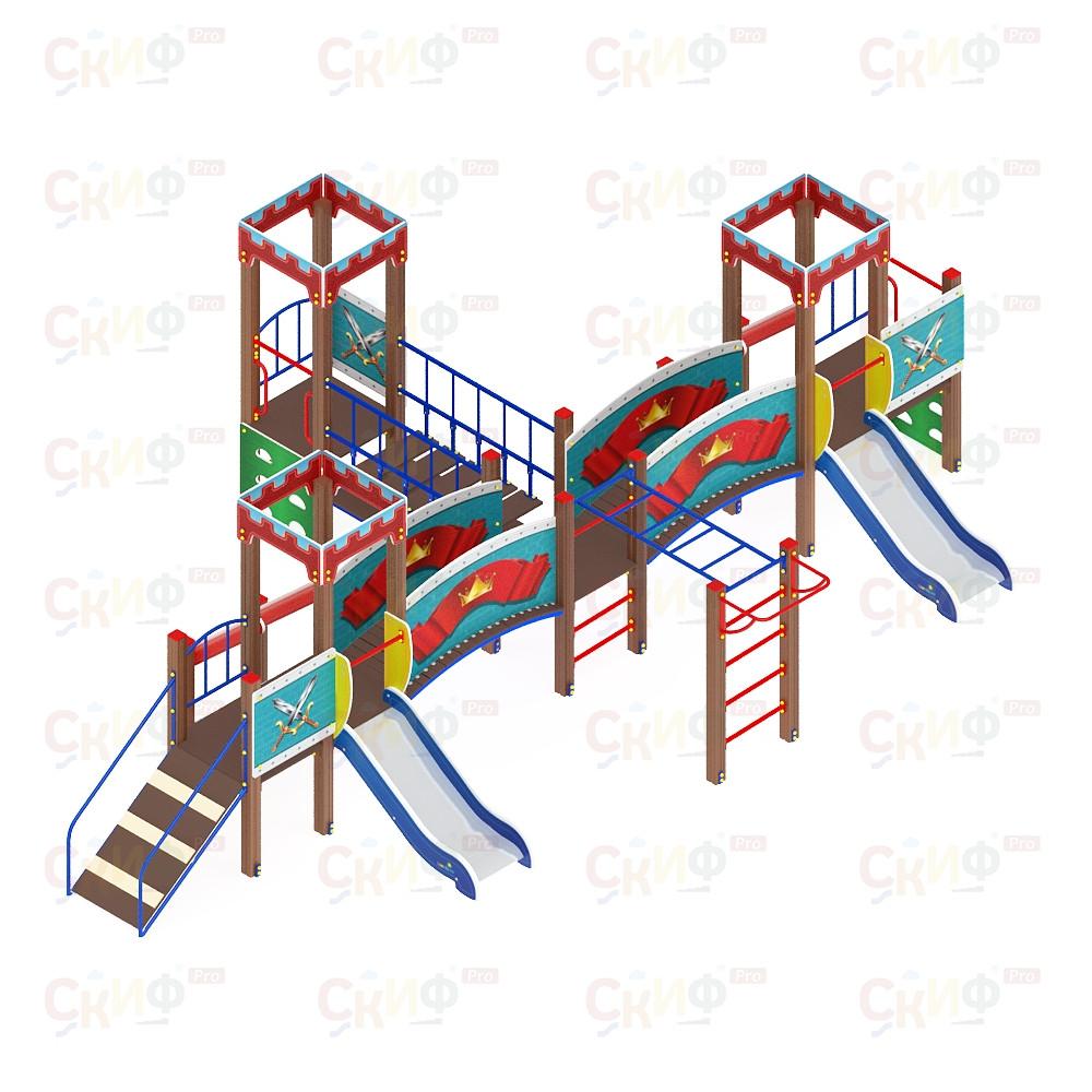 Детский игровой комплекс «Королевство» ДИК 1.15.05 H=750