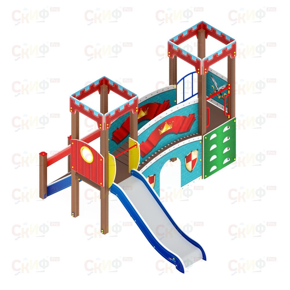 Детский игровой комплекс «Королевство» ДИК 1.15.06 H=900