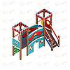 Детский игровой комплекс «Королевство» ДИК 1.15.06 H=900, фото 3