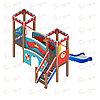 Детский игровой комплекс «Королевство» ДИК 1.15.06 H=900, фото 4