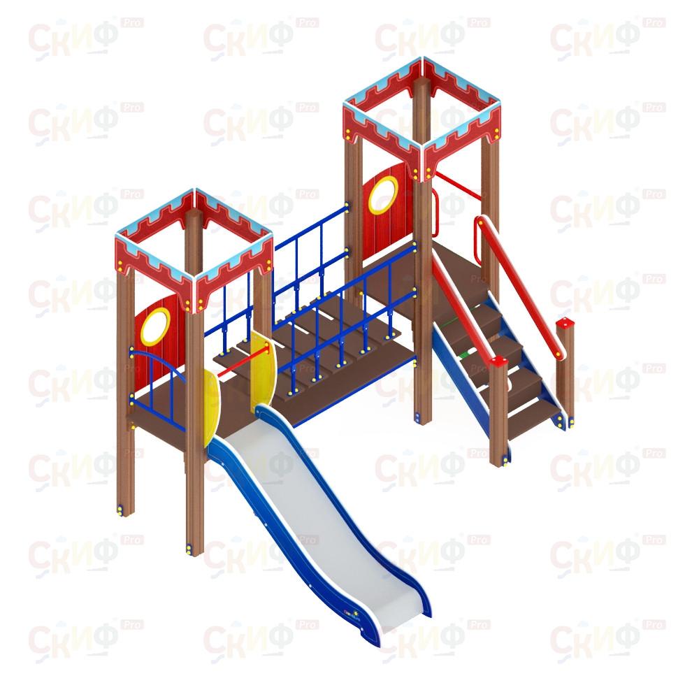 Детский игровой комплекс «Королевство» ДИК 1.15.07 H=900