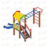 Детский игровой комплекс «Полянка» ДИК 1.16.05 H=750, фото 2