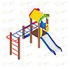 Детский игровой комплекс «Полянка» ДИК 1.16.05 H=750, фото 4