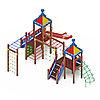 Детский игровой комплекс «Волшебный город» ДИК 2.19.01 H=1500, фото 2
