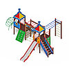 Детский игровой комплекс «Волшебный город» ДИК 2.19.01 H=1500, фото 4