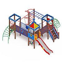 Детский игровой комплекс «Волшебный город» ДИК 2.19.02 H=1200