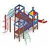 Детский игровой комплекс «Волшебный город» ДИК 2.19.02 H=1200, фото 2