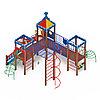 Детский игровой комплекс «Волшебный город» ДИК 2.19.02 H=1200, фото 3
