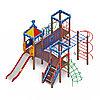 Детский игровой комплекс «Волшебный город» ДИК 2.19.02 H=1200, фото 4