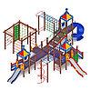 Детский игровой комплекс «Волшебный город» ДИК 2.19.03 H=2000 H=1200 H=900, фото 2
