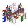 Детский игровой комплекс «Волшебный город» ДИК 2.19.03 H=2000 H=1200 H=900, фото 3