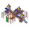 Детский игровой комплекс «Волшебный город» ДИК 2.19.03 H=2000 H=1200 H=900, фото 4