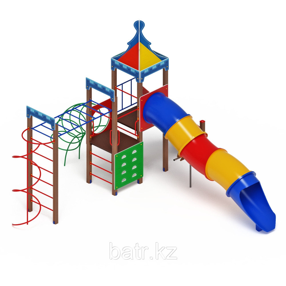 Детский игровой комплекс «Волшебный город» ДИК 2.19.04 H=1500