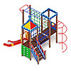 Детский игровой комплекс «Волшебный город» ДИК 2.19.05 H=1500, фото 3
