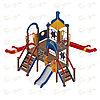 Детский игровой комплекс «Морской» ДИК 2.17.04 H=900 H=1200 H=1500, фото 2