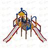 Детский игровой комплекс «Морской» ДИК 2.17.04 H=900 H=1200 H=1500, фото 4