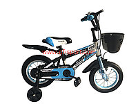 Велосипед Stitch синий оригинал детский с холостым ходом 12 размер