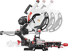 Пила торцовочная ЗУБР ЗПТ-305-1800 ПЛР, с протяжкой, ременная передача, 305мм, 1800Вт, фото 2