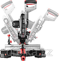 Пила торцовочная ЗУБР ЗПТ-305-1800 ПЛР, с протяжкой, ременная передача, 305мм, 1800Вт, фото 3