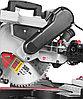 Пила торцовочная ЗУБР ЗПТ-305-1800 ПЛР, с протяжкой, ременная передача, 305мм, 1800Вт, фото 6