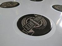 Изготовление стикеров с полимерной смолой