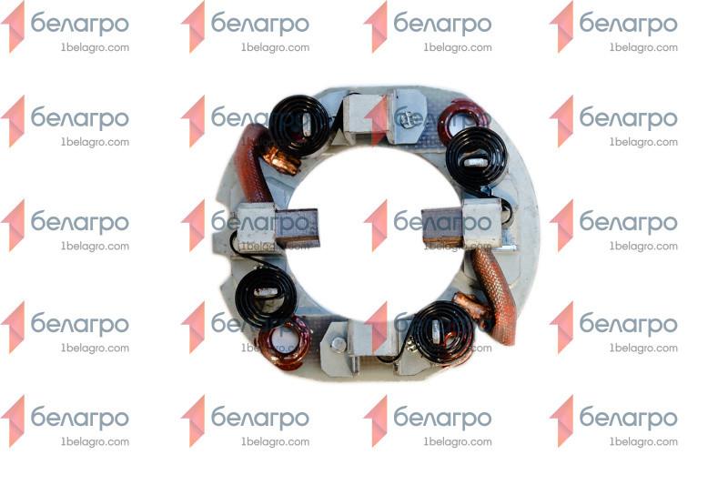 123703102 Щетка стартера МТЗ с держателем 12В 2,8 кВт; для стартера JUBANA 123708101,-102, Литва