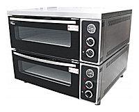 Печь для пиццы электрическая на 4 пиццы диаметр 31 см с гранитным камнем