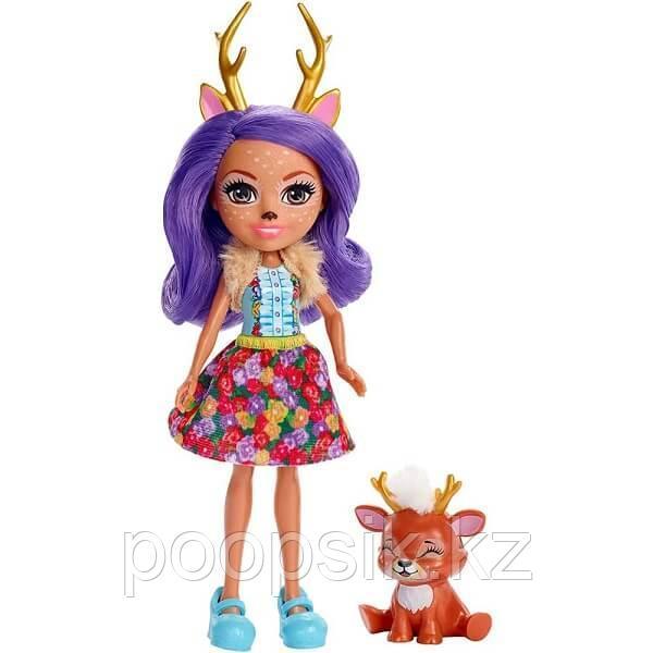 Enchantimals Кукла с питомцем Данесса Олени DVH87/FXM75 - фото 2