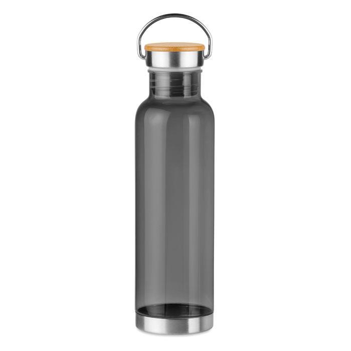 Бутылка спортивная из тритана, Черная