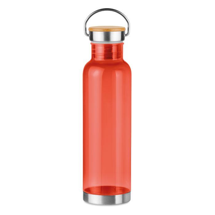 Бутылка спортивная из тритана, Красная