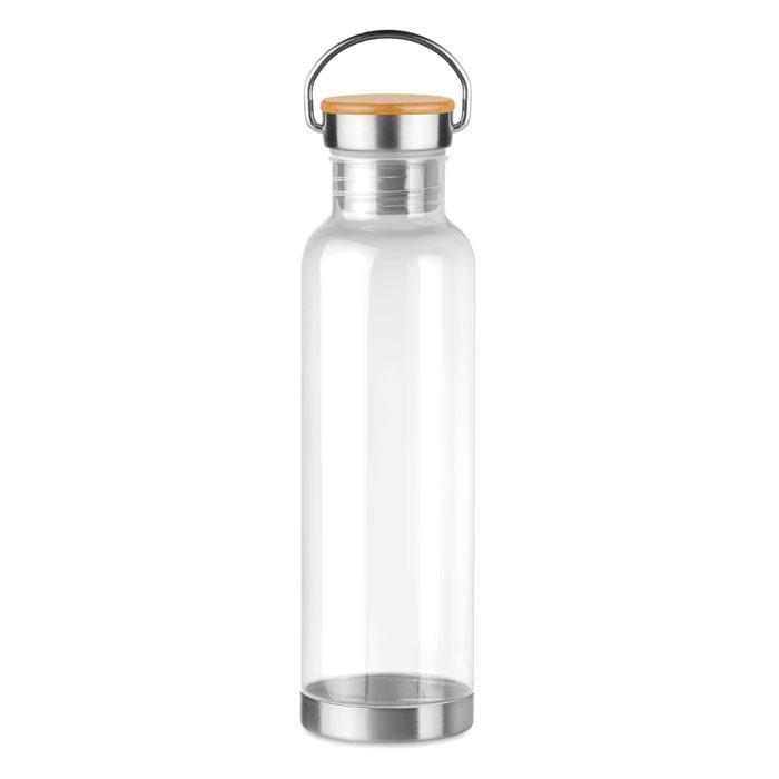 Бутылка спортивная из тритана, Прозрачная