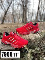Кроссовки Adidas marathon красные, фото 1