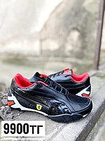 Кроссовки puma Ferrari черно-красные