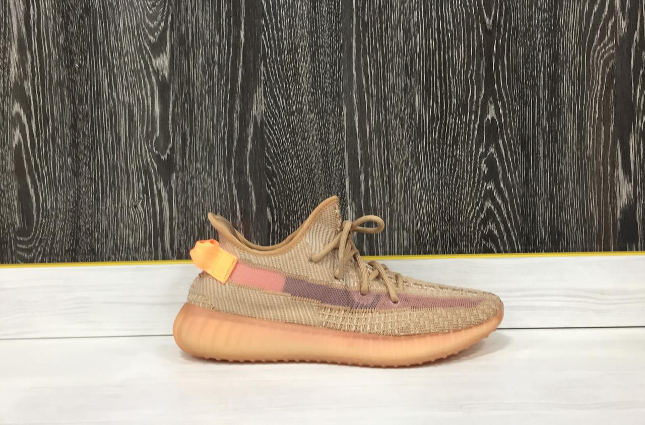 Кроссовки Adidas Yeezy Boost 350 V2 Clay (43 размер) - фото 1