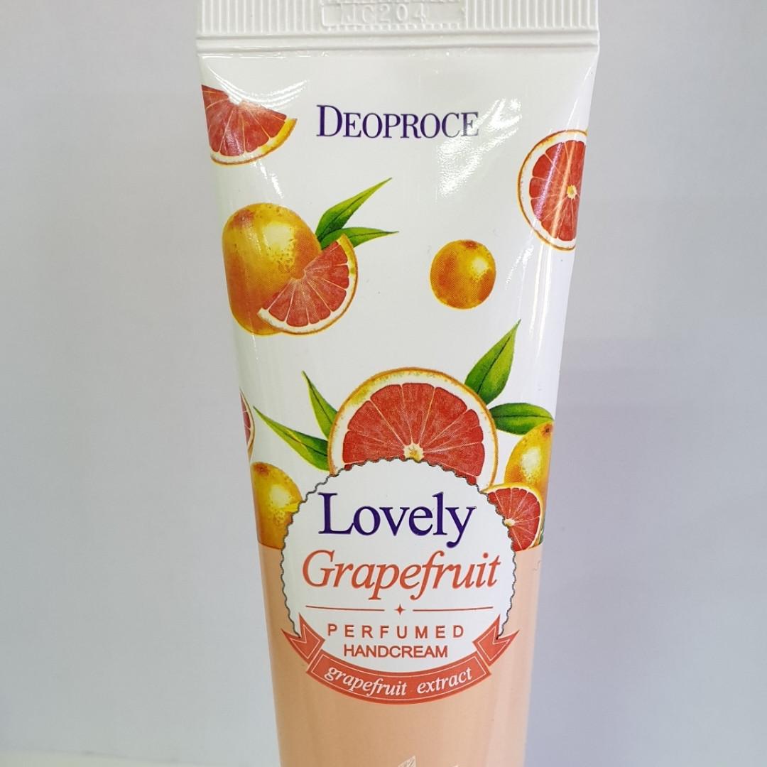 Крем для рук Deoproce Lovely Grapefruit 50 gr