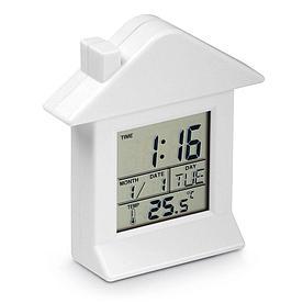 Пластиковые настольные часы с магнитом