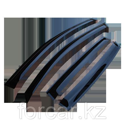 Комплект дефлекторов LUX для а/м Toyota Corolla XI (E160) SD 2013-... г.в.
