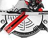 Пила торцовочная ЗУБР ЗПТ-210-1400 Л, МАСТЕР, 210 мм, 1300 Вт, 5500 об/мин, лазер, фото 5
