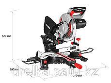 Пила торцовочная ЗУБР ЗПТ-210-1600 ПЛ, МАСТЕР, 210 мм, 1600 Вт, 4500 об/мин, лазер, удлинители стола, фото 2