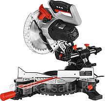 Пила торцовочная ЗУБР ЗПТ-210-1600 ПЛ, МАСТЕР, 210 мм, 1600 Вт, 4500 об/мин, лазер, удлинители стола, фото 3