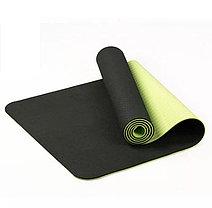 Коврик для фитнеса черный (Габариты: 170х60х0,8 см), фото 3